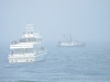 28 May 2011. Quite a foggy day out on the water. Stellwagen Bank National Marine Sanctuary