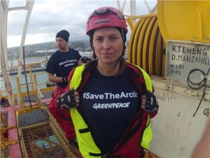 Lucy Lawless & Greenpeace New Zealand - #savethearctic